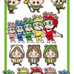 イメージキャラクターズ_green